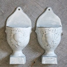 Wall Hanging Vase, Set of 2