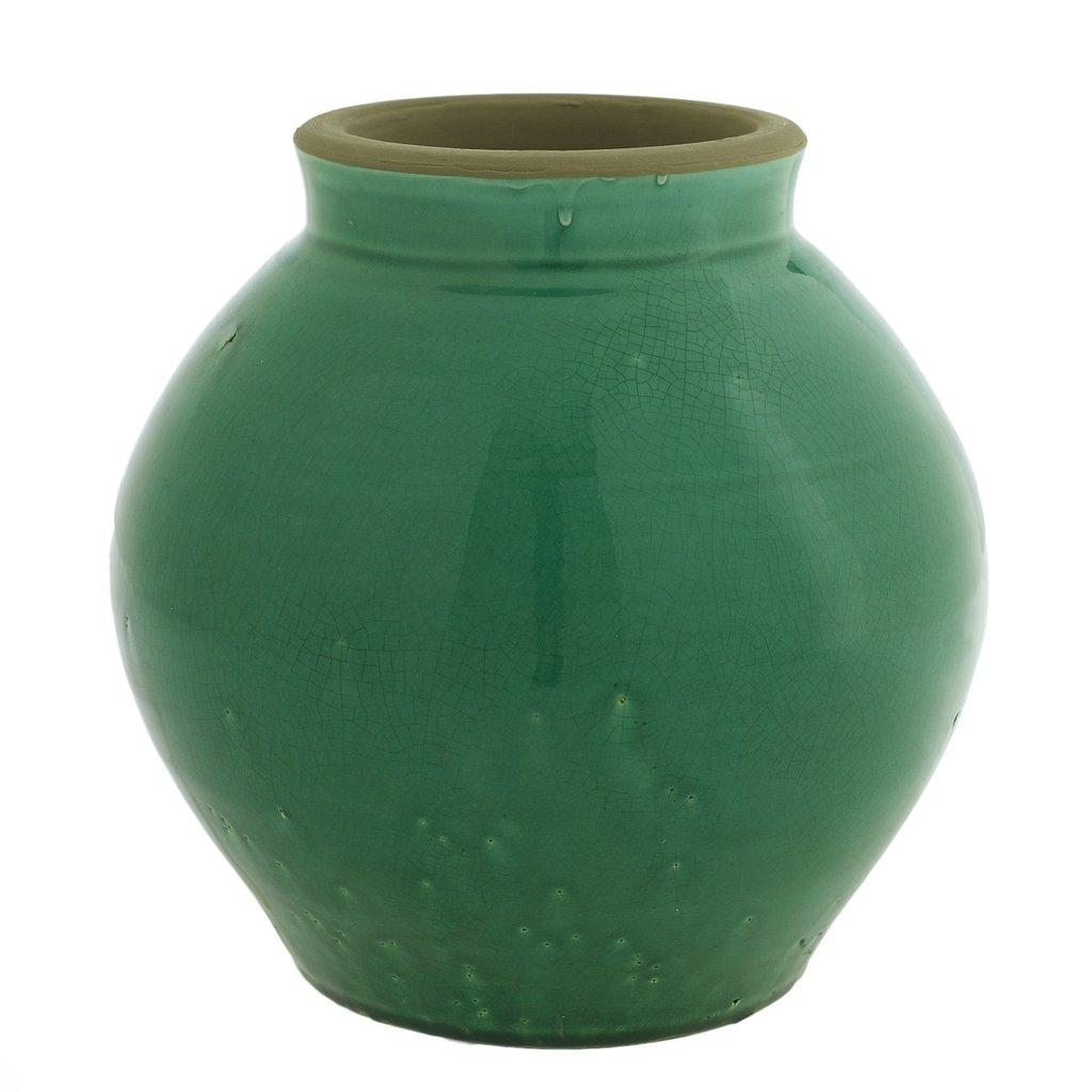 Emerald Yuma Vase, Medium