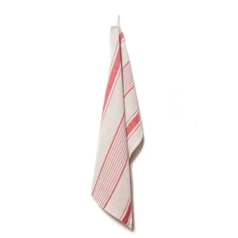 LPM Kitchen towel, aubagne natural/rouge
