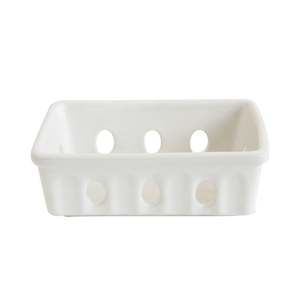 LPM Stoneware Berry Basket/Soap Dish
