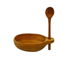 Teak Cellar with Vertical Spoon