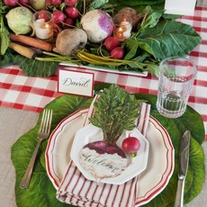 Die cut cabbage placemat