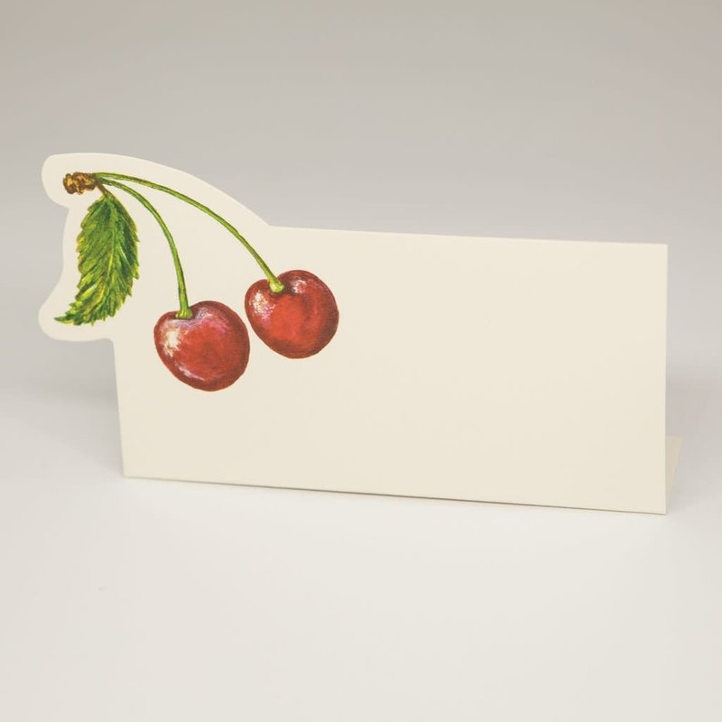 Jumbo Cherries place card