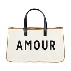Canvas Tote Amour