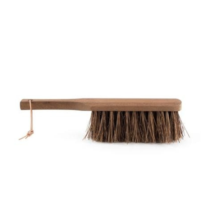"""LPM """"Heritage"""" Ash Wood Outdoor Hand Brush with Coconut Fibers"""