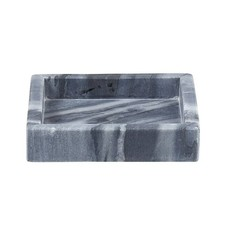 Grey Square Marble Tray