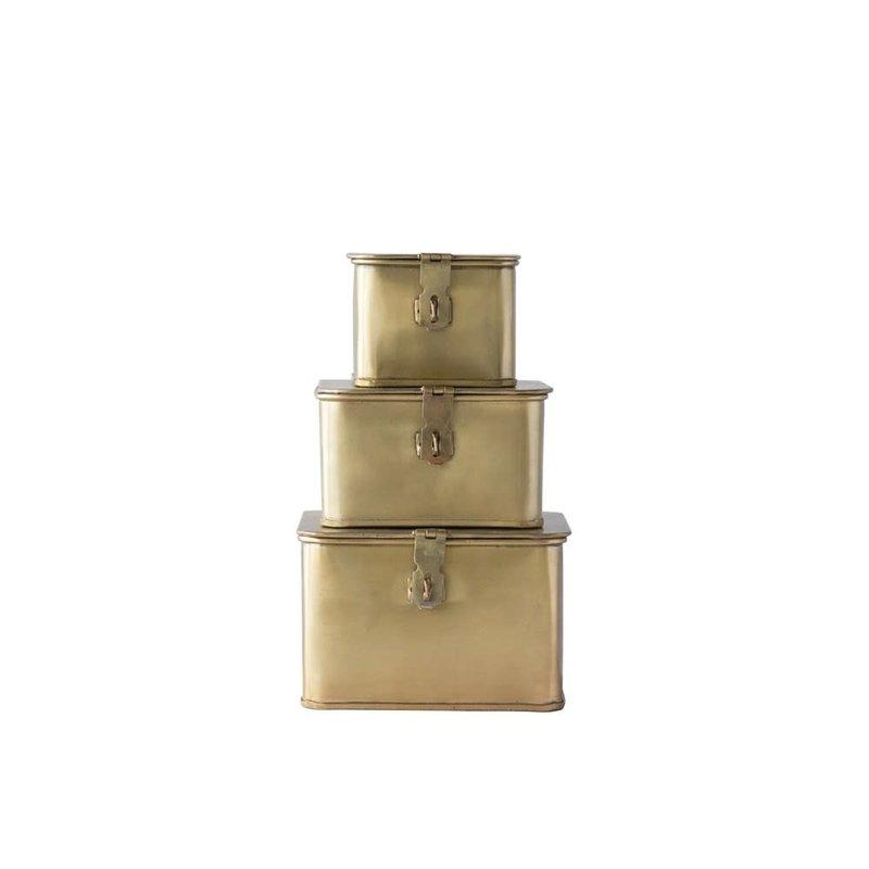 Square Decorative Metal Box, medium