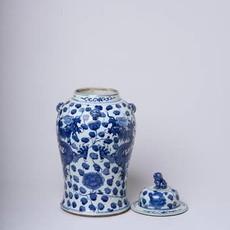 LPM Scrolling Dragon Temple Jar