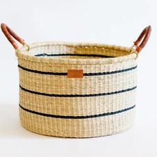 LPM Babi Basket with Handles - Stripe
