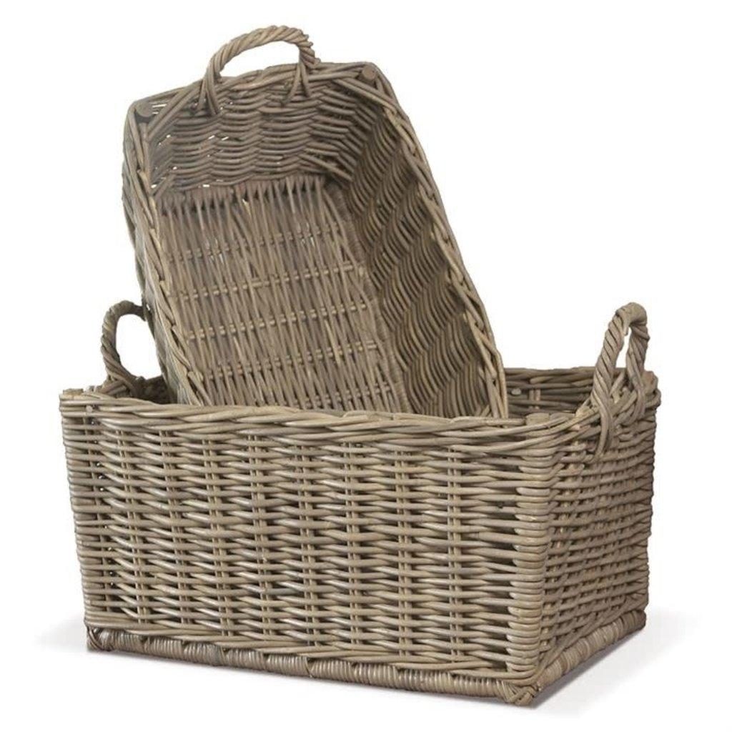 LPM Normandy Laundry baskets, set of 2