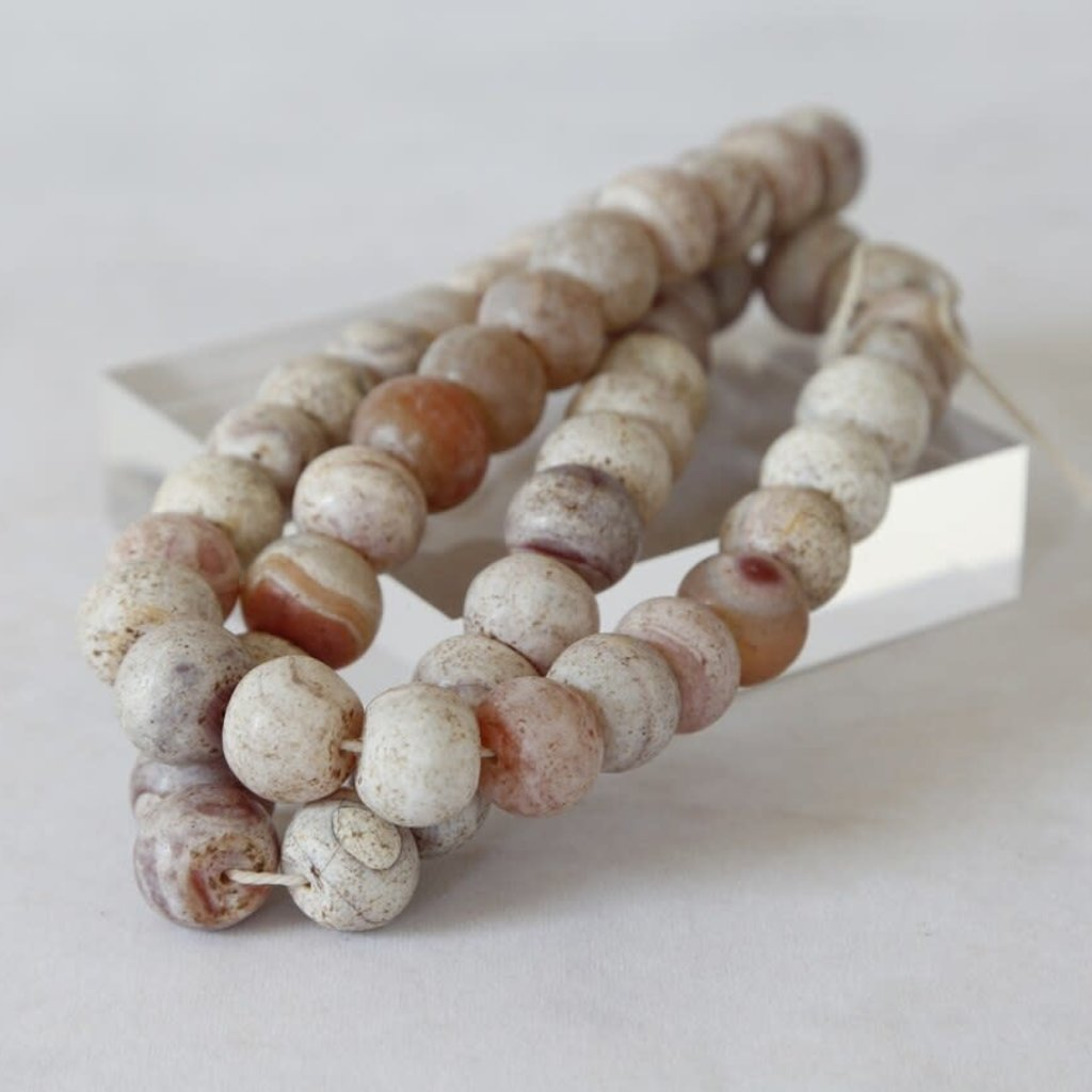 Decorative Round stone  Agate Bead