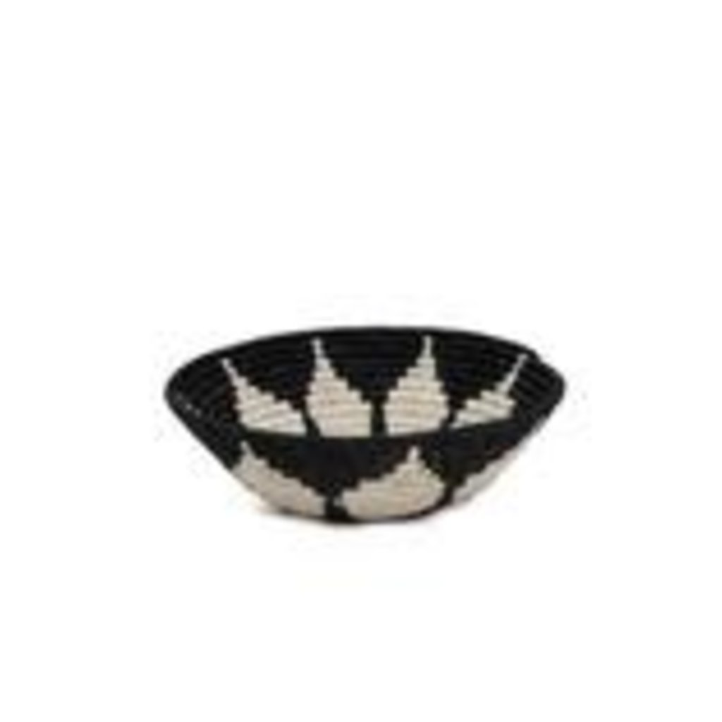 Black Hope Round Basket, Medium