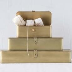 LPM Rectangle Decorative Metal Box, large