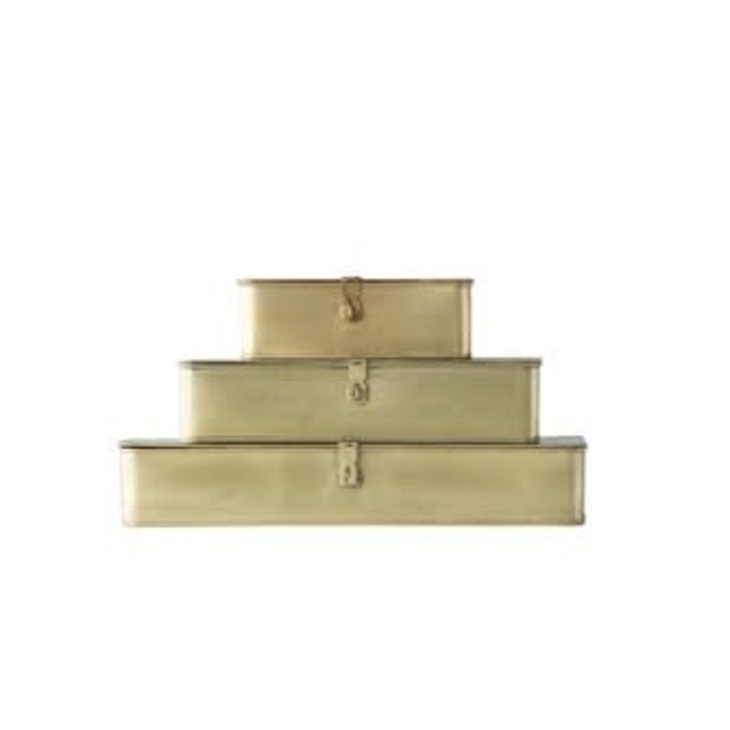 Rectangle Decorative Metal Box, medium