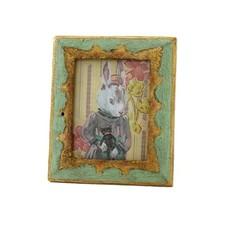 Dresden Border Frame - Mint Green