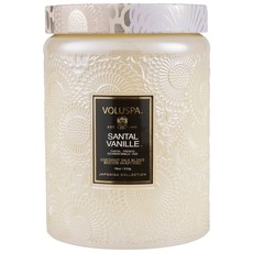 Santal Vanille Jar Candle, Large