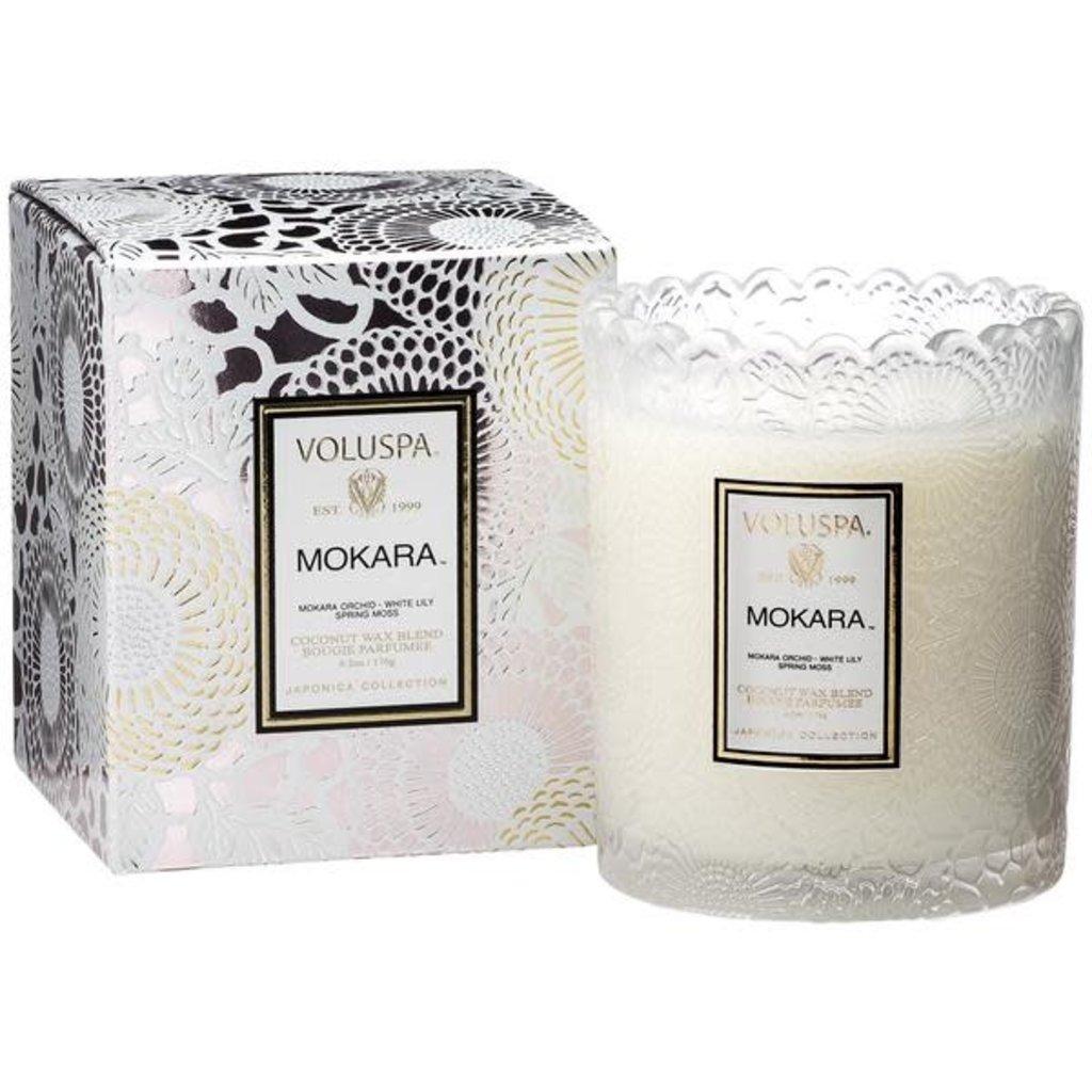 Mokara Boxed Scallop Candlepot