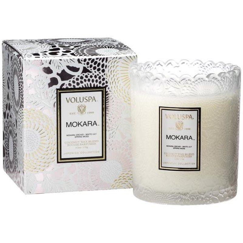 LPM Mokara Boxed Scallop Candlepot