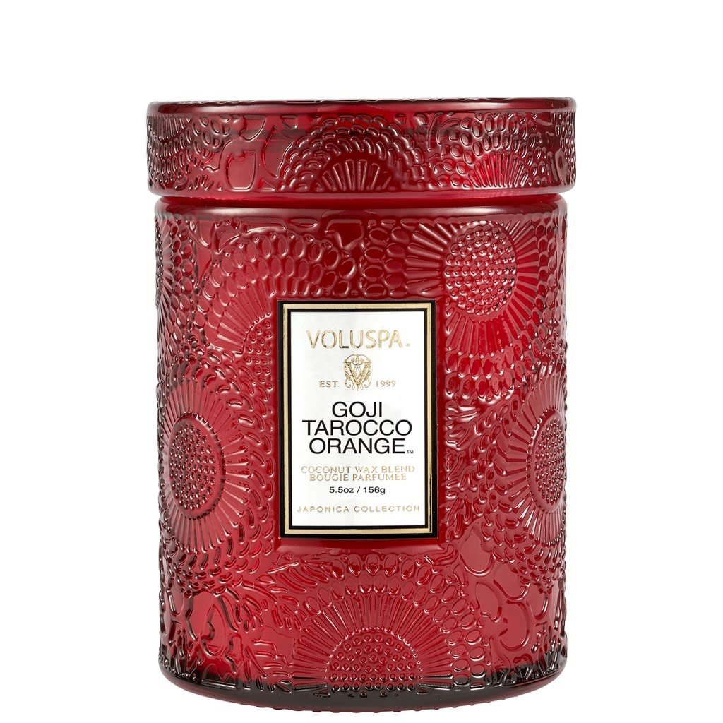 LPM Goji Tarocco Orange Jar Candle, Small