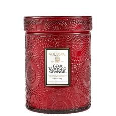 Goji Tarocco Orange Jar Candle, Small