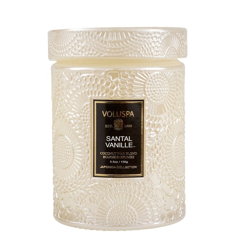 Small Jar Candle, Santal Vanille