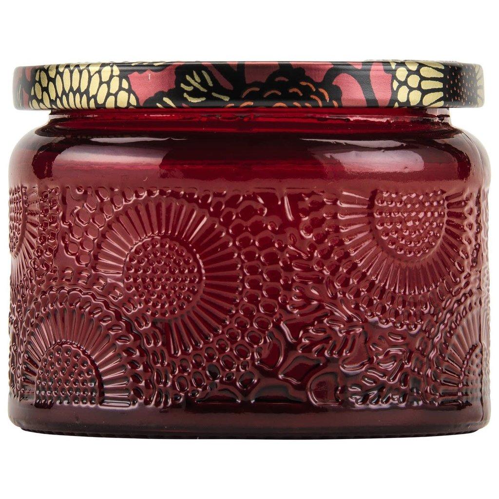 Goji Tarocco Orange Jar Candle, Petite