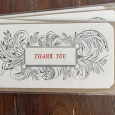 """Thank You,""  Visiting Card"