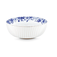 Pip Studio Bowl, Royal White, Large