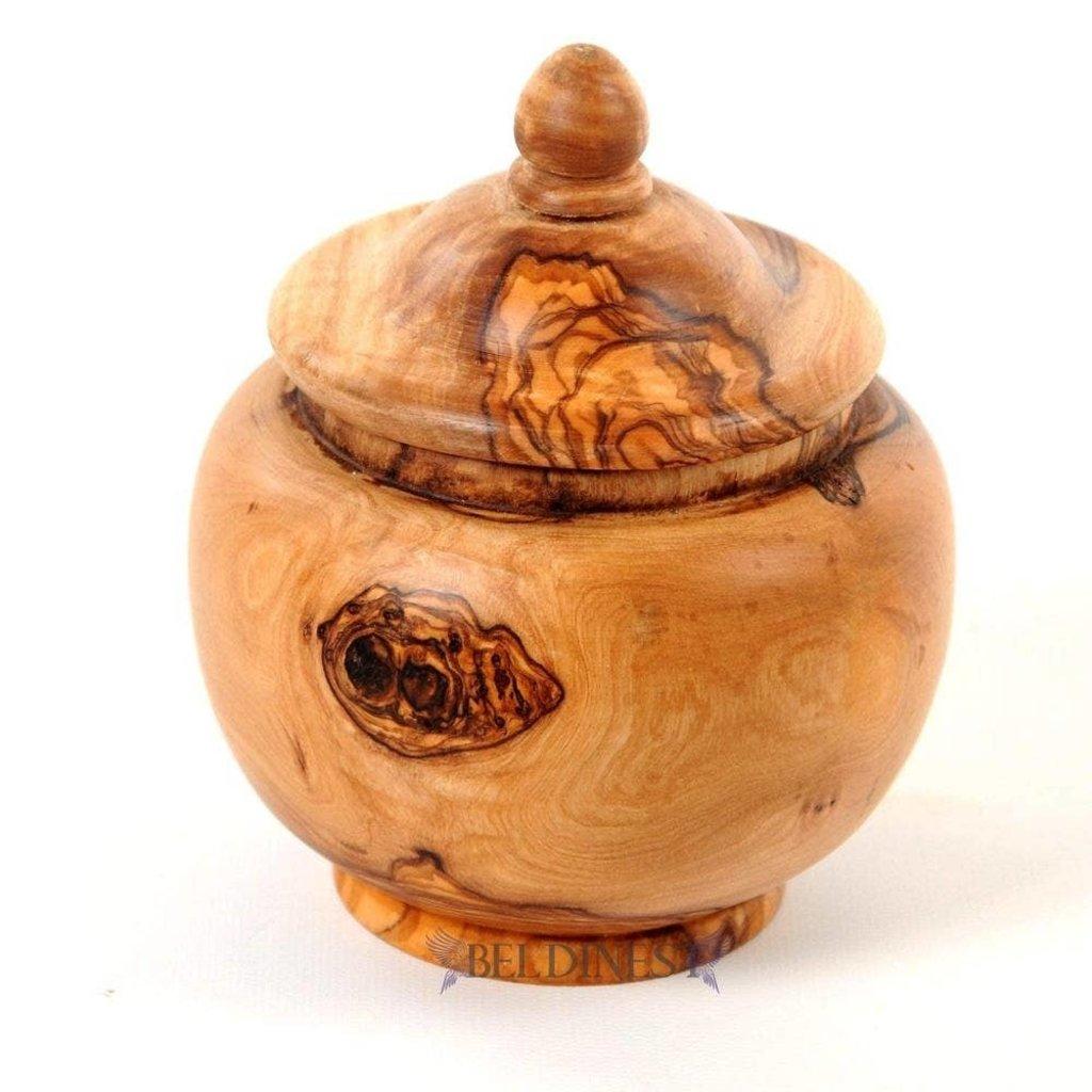 LPM Wooden Canister, medium