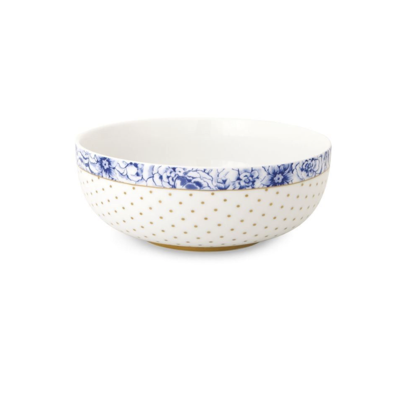 Pip Studio Bowl, Royal White, Medium