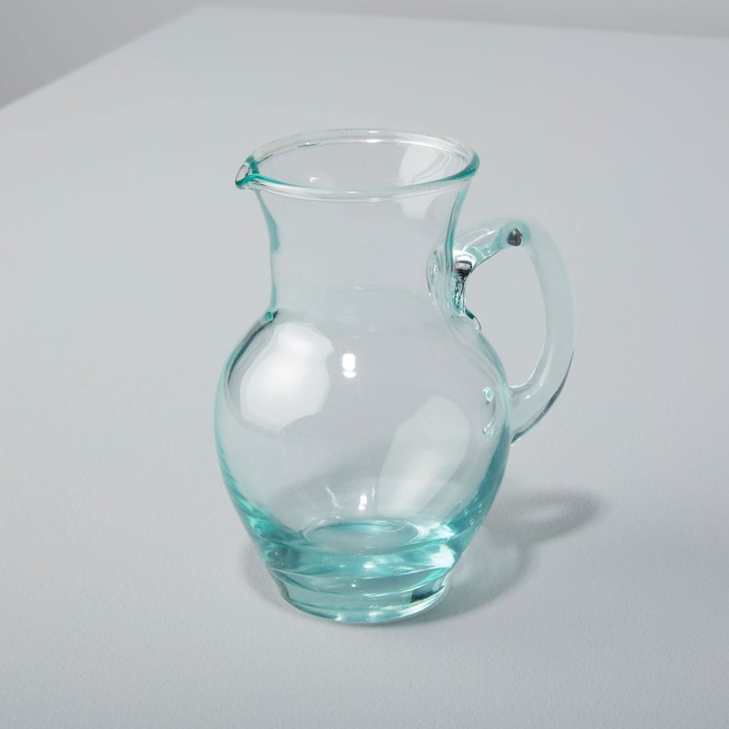LPM Recycled Glass Pitcher