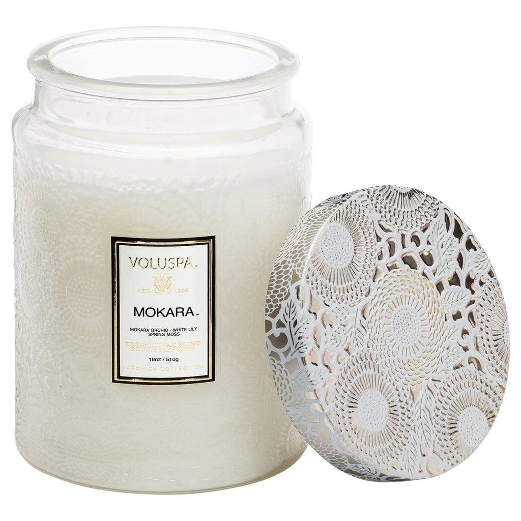 Mokara Jar Candle, Large