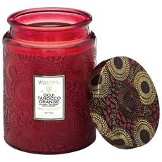 LPM Goji Tarocco Orange Jar Candle, Large