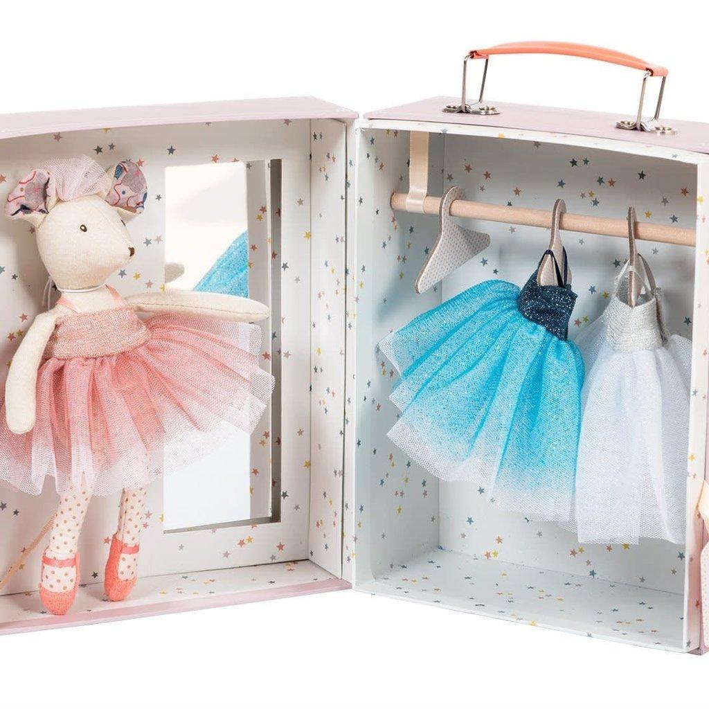 Moulin Roty Il Etait Une Fois - Ballerina Mouse Valise
