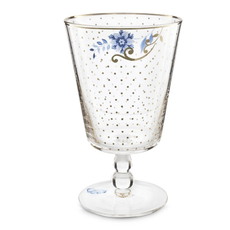 Pip Studio Water Glass, Royal Golden Dots