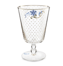 Pip Studio Water Glass, Royal Golden Dots
