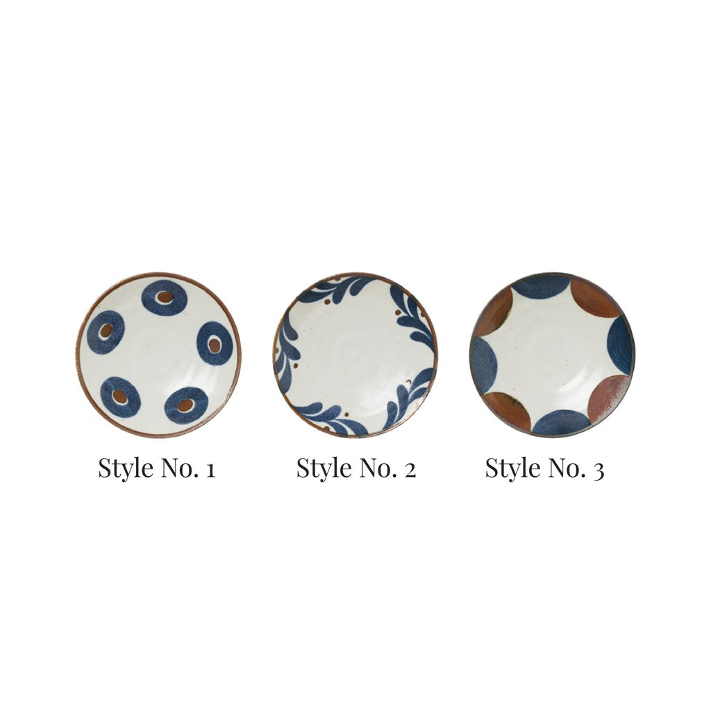 Round Porcelain Plate, Style No. 2
