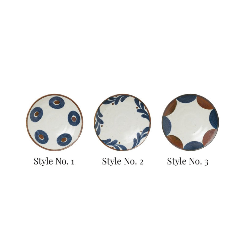 Round Porcelain Plate, Style No. 3