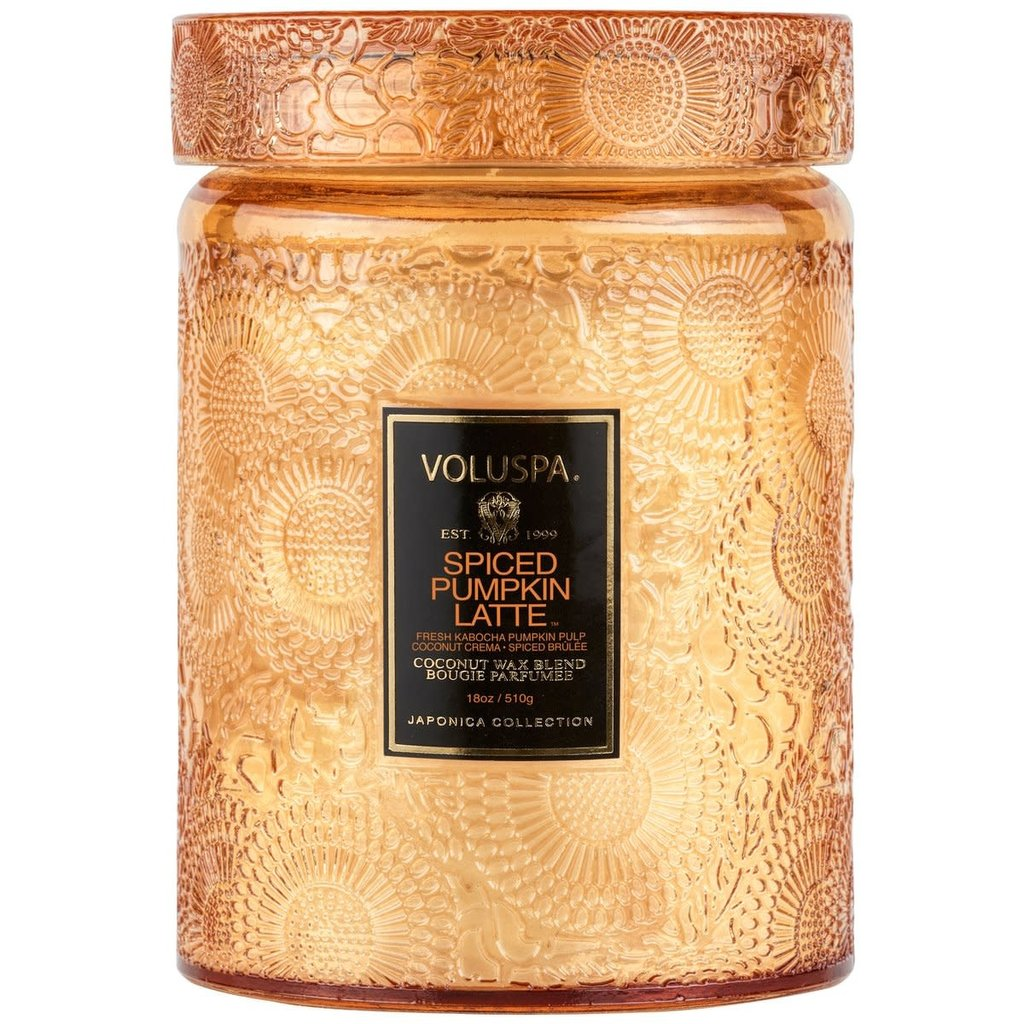 Spiced Pumpkin Latte Candle, Large