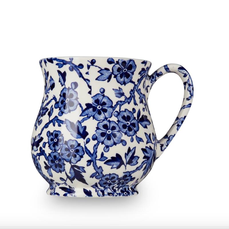 Burleigh Blue Arden Sandringham Mug