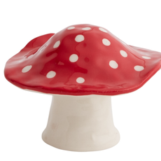 Toadstool Figurine, Squat