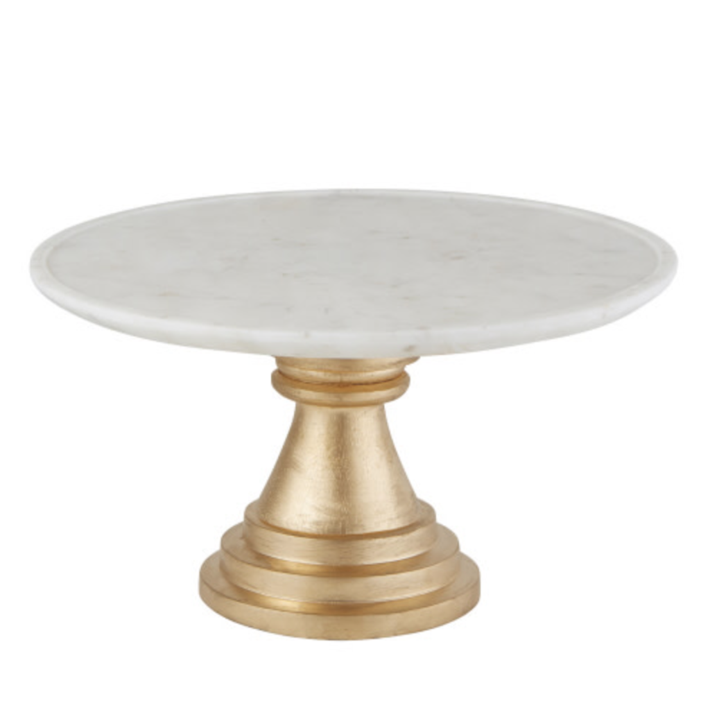 Marble Cake Stand, Small