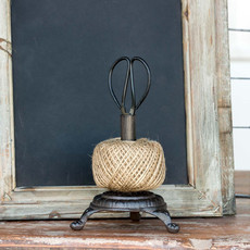 Ball of Twine on Cast Iron Stand with Snips