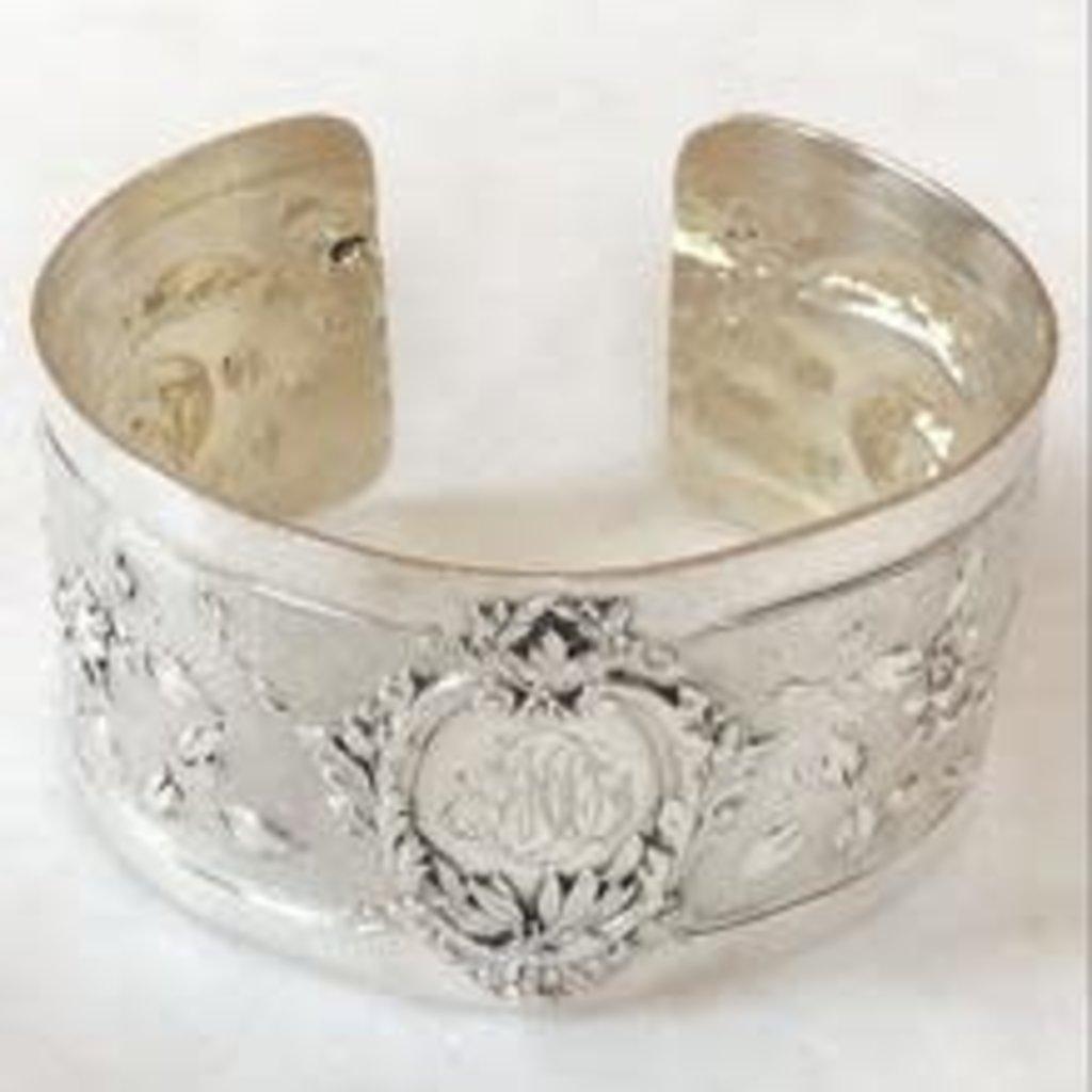 French Napkin Ring Cuff, MD Monogram