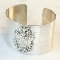 French Napkin Ring Cuff, LA  monogram
