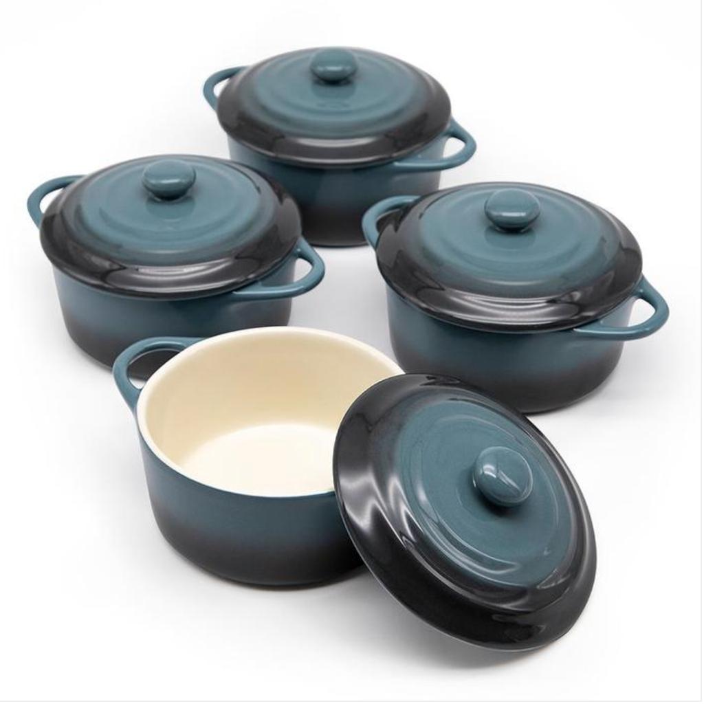 LPM Kook Mini Casserole Dish, stone ombre