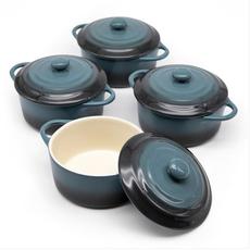 Kook Mini Casserole Dish, stone ombre
