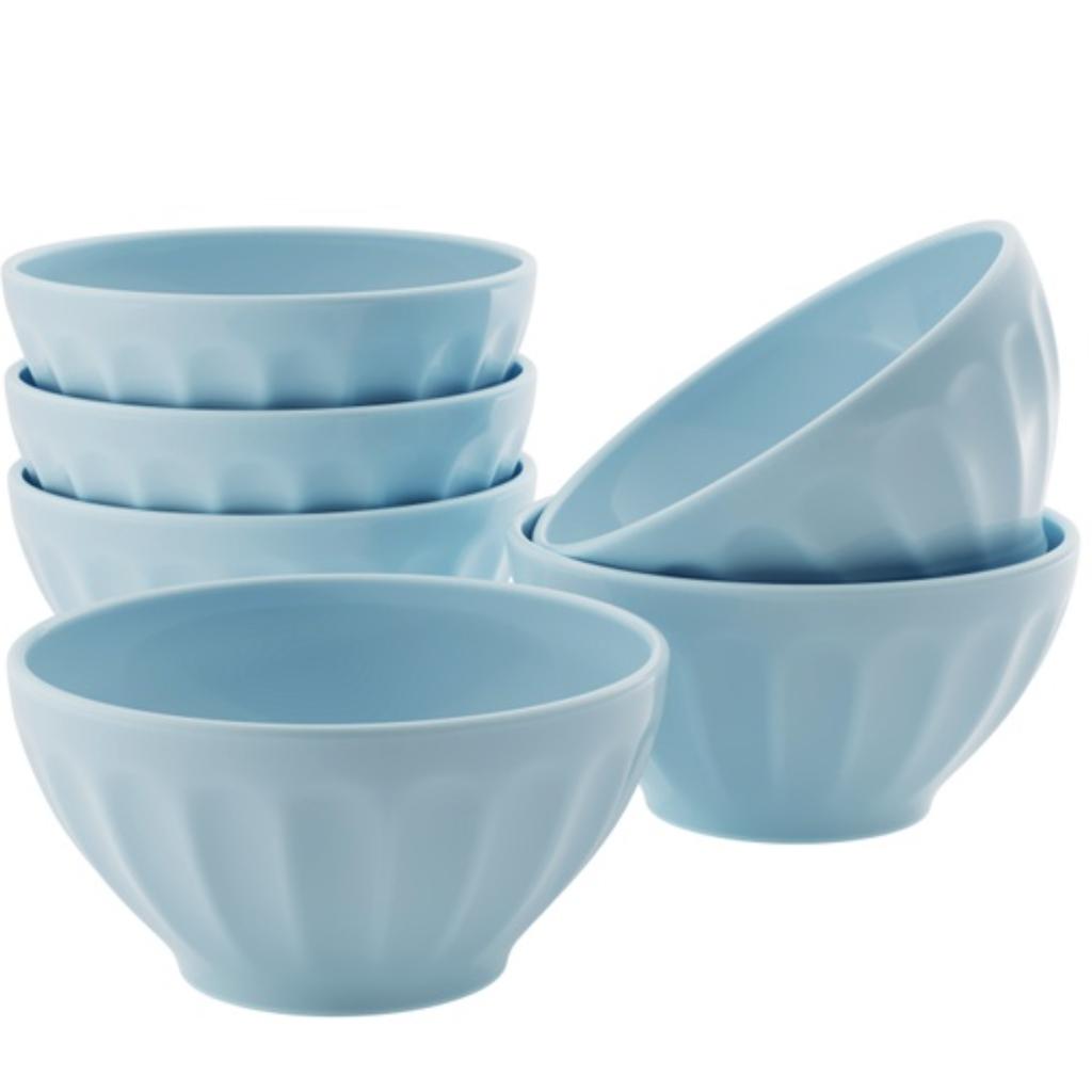 LPM Kook Ceramic Cereal Bowl, blue