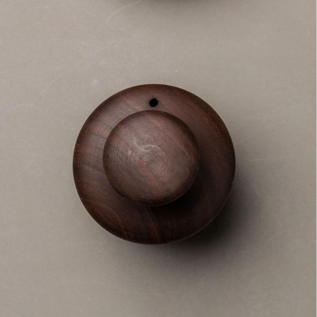 LPM Wooden Biscuit Cutter, black walnut