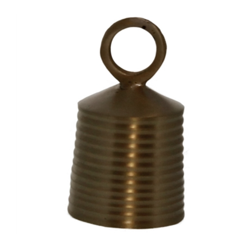 Banded Bell, brass